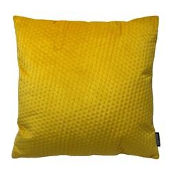 Yellow Button Velvet | 45 x 45 cm | Kussenhoes | Polyester