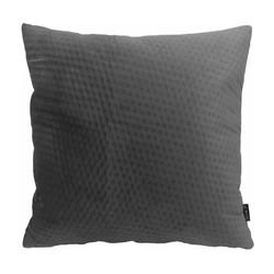 Dark Grey Button Velvet | 45 x 45 cm | Kussenhoes | Polyester