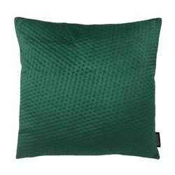 Dark Green Button Velvet | 45 x 45 cm | Kussenhoes | Polyester