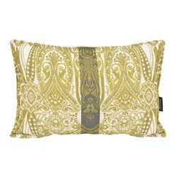 Yellow Jacquard Long | 30 x 50 cm | Kussenhoes | Jacquard