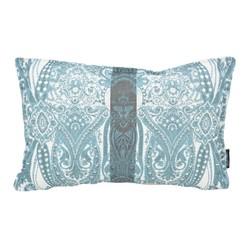 Blue Jacquard Long | 30 x 50 cm | Kussenhoes | Jacquard