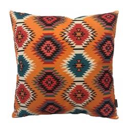 Orange Aztec | 45 x 45 cm | Kussenhoes | Linnen/Katoen