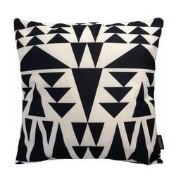 Black Triangles | 45 x 45 cm | Kussenhoes | Linnen/Katoen