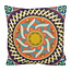 Color Mandala #1 | 45 x 45 cm | Kussenhoes | Linnen/Katoen