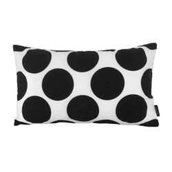 Black Spots | 30 x 50 cm | Kussenhoes | Katoen/Polyester