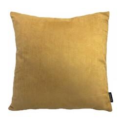 Suedine Geel | 45 x 45 cm | Kussenhoes | Suedine/Polyester