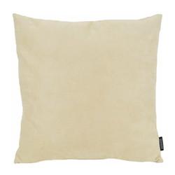 Suedine Creme | 45 x 45 cm | Kussenhoes | Suedine/Polyester