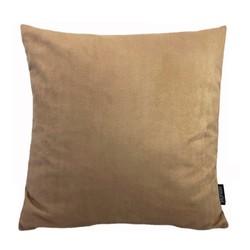 Suedine Camel | 45 x 45 cm | Kussenhoes | Suedine/Polyester