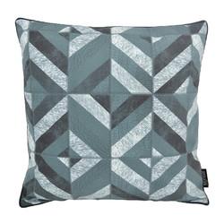 Stripe Patchwork #4 | 45 x 45 cm | Kussenhoes | PU Leder