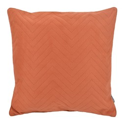 Suedine Chevron Rust | 45 x 45 cm | Kussenhoes | Suedine