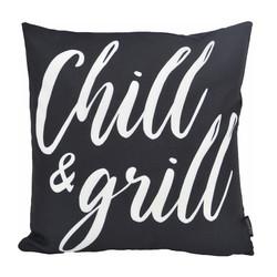 Chill & Grill - Outdoor | 45 x 45 cm | Kussenhoes | Katoen