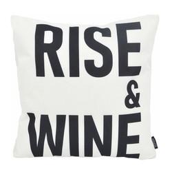 Rise & Wine - Outdoor | 45 x 45 cm | Kussenhoes | Katoen