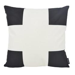 Dano Black / White #1 - Outdoor | 45 x 45 cm | Kussenhoes | Katoen