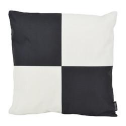 Dano Black / White #2 - Outdoor | 45 x 45 cm | Kussenhoes | Katoen