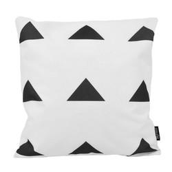 Dano Black / White #3 - Outdoor | 45 x 45 cm | Kussenhoes | Katoen