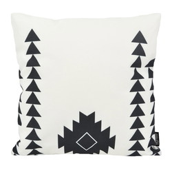 Dano Black / White #4 - Outdoor | 45 x 45 cm | Kussenhoes | Katoen