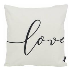 Love #1 - Outdoor | 45 x 45 cm | Kussenhoes | Katoen