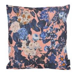 Floral Lila - Outdoor | 45 x 45 cm | Kussenhoes | Katoen