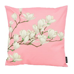 Pink Magnolia - Outdoor   45 x 45 cm   Kussenhoes   Katoen