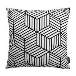 Black Illusion | 45 x 45 cm | Kussenhoes | Katoen/Polyester