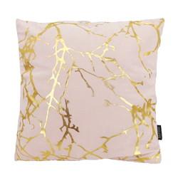 Velvet Marble Pink | 45 x 45 cm | Kussenhoes | Polyester