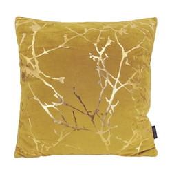 Velvet Marble Yellow | 45 x 45 cm | Kussenhoes | Polyester