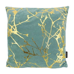 Velvet Marble Green | 45 x 45 cm | Kussenhoes | Polyester