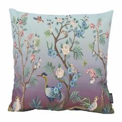 Oriental Flower Birds | 45 x 45 cm | Kussenhoes | Katoen