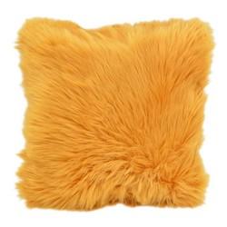 Ochre Yellow Fur   45 x 45 cm   Kussenhoes   Polyester
