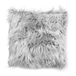 Light Grey Fur | 45 x 45 cm | Kussenhoes | Polyester