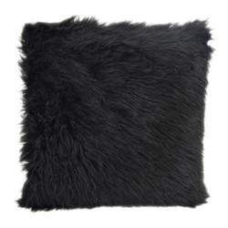 Full Black Fur | 45 x 45 cm | Kussenhoes | Polyester