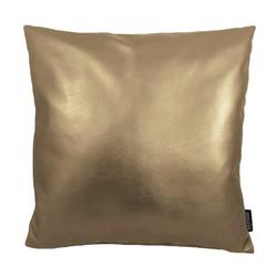 Metallic Gold | 45 x 45 cm | Kussenhoes | PU Leder