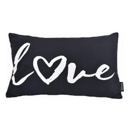 Love Word | 30 x 50 cm | Kussenhoes | Katoen/Polyester