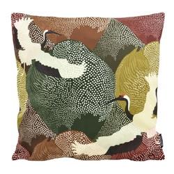 Kraanvogel #2 | 45 x 45 cm | Kussenhoes | Katoen/Polyester