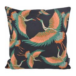 Kraanvogel #3 | 45 x 45 cm | Kussenhoes | Katoen/Polyester