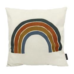 Color Rainbow #1   45 x 45 cm   Kussenhoes   Linnen/Katoen