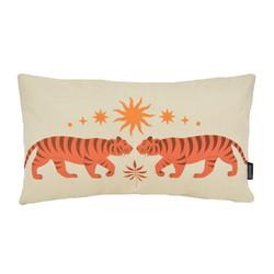 Indya Spirit Tiger | 30 x 50 cm | Kussenhoes | Linnen/Katoen