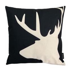 Deer / Hert | 45 x 45 cm | Kussenhoes | Linnen/Katoen