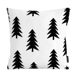 Black Trees | 45 x 45 cm | Kussenhoes | Katoen/Polyester