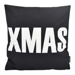 XMAS Black | 45 x 45 cm | Kussenhoes | Katoen/Polyester