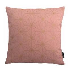 Nadal Pink / Gold   45 x 45 cm   Kussenhoes   Katoen