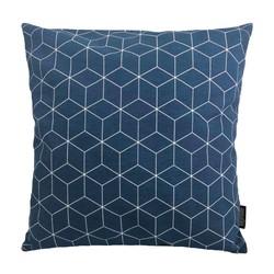 Geometric Blue | 45 x 45 cm | Kussenhoes | Katoen/Polyester