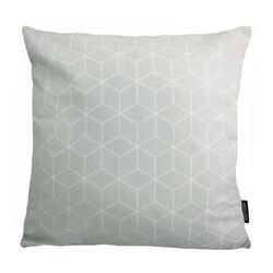 Geometric Mint | 45 x 45 cm | Kussenhoes | Katoen/Polyester
