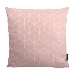 Geometric Light Pink | 45 x 45 cm | Kussenhoes | Katoen