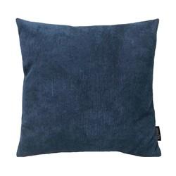 Coco Blauw Ribfluweel   45 x 45 cm   Kussenhoes   Ribfluweel