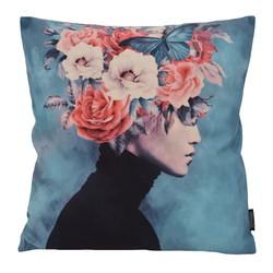 Flower Hair | 45 x 45 cm | Kussenhoes | Katoen/Polyester