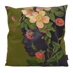 Flower Face | 45 x 45 cm | Kussenhoes | Katoen/Polyester