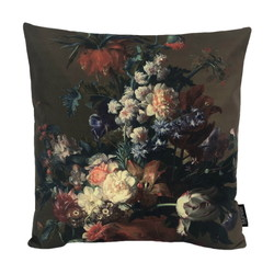 Flower Bouquet #1 | 45 x 45 cm | Kussenhoes | Linnen/Katoen