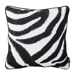 Velvet Zebra Print | 45 x 45 cm | Kussenhoes | Velvet/Polyester