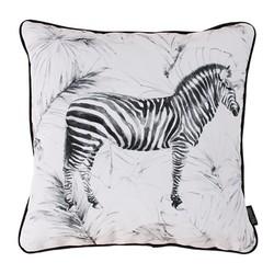 Velvet Zebra   45 x 45 cm   Kussenhoes   Velvet/Polyester